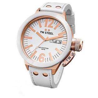 CE1036 TW Steel Canteen CEO 50 mm og rosa forgyldninger*