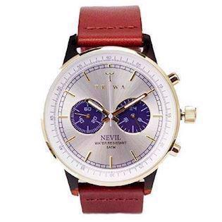 Blue Face Nevil Cognac Classic herreur med chrongraph