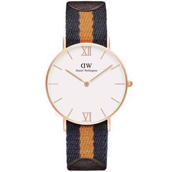 Daniel Wellington Grace Selwyn rosa forgyldt quartz Dame ur, model 0554DW