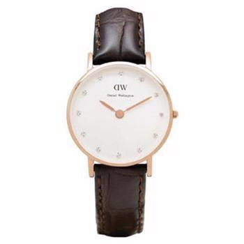 Daniel Wellington Classy York rosa forgyldt quartz Dame ur, model 0902DW