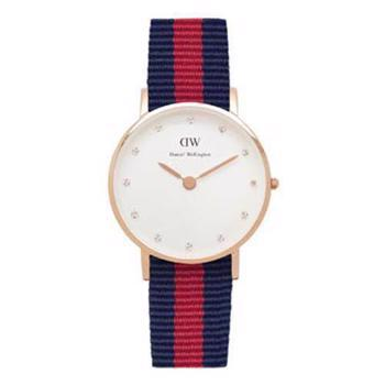 Daniel Wellington Classy Oxford rosa forgyldt quartz Dame ur, model 0905DW