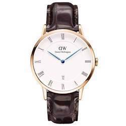 rosa forgyldt Dapper York quartz Herre ur fra Daniel Wellington