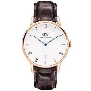 rosa forgyldt Dapper York quartz Dame ur fra Daniel Wellington