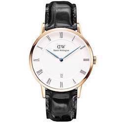 rosa forgyldt Dapper Reading quartz Herre ur fra Daniel Wellington