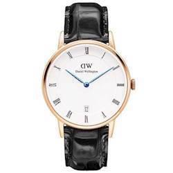 rosa forgyldt Dapper Reading quartz Dame ur fra Daniel Wellington