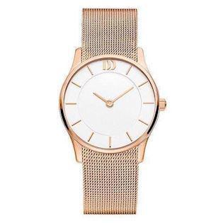 Rosa forgyldt  Quartz Dame ur fra Danish Design