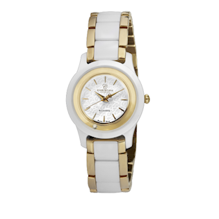CHRISTINA WATCHES COLLECT MED DIAMANT OG KERAMIK DAMEUR