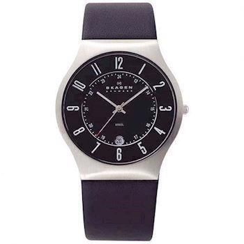 Skagen Steel / Leather Kollektion Herre ur