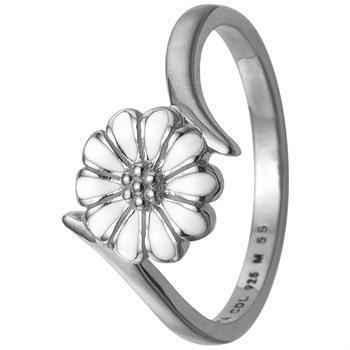 Marguerit Power sterling sølv 1,5 mm samle fingerringe smykke fra Christina Collect