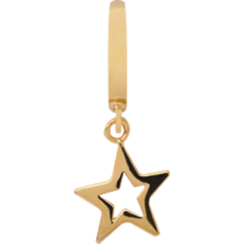 Christina Collect Star forgyldt charm