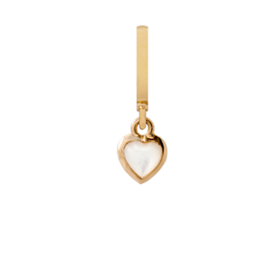 Christina Collect Pearl Heart Heaven forgyldt charm