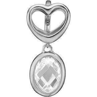 b9b72e2bdd9 Køb dit Åbent hjerte med krystalkvarts vedhæng fra Christina smykker hos  Ur-Tid.dk