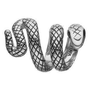 Eternity Snake 925 sterling sølv  Collect armbånds ring charm smykke fra Christina Collect