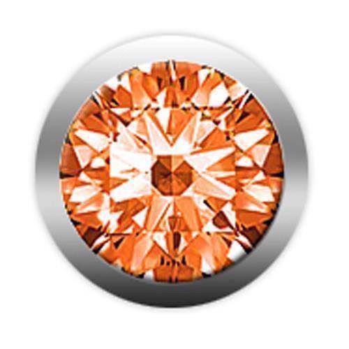Christina Design London Collect ædelsten, Orange safir