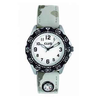 Chrom kompas Quartz dreng ur fra Club Time